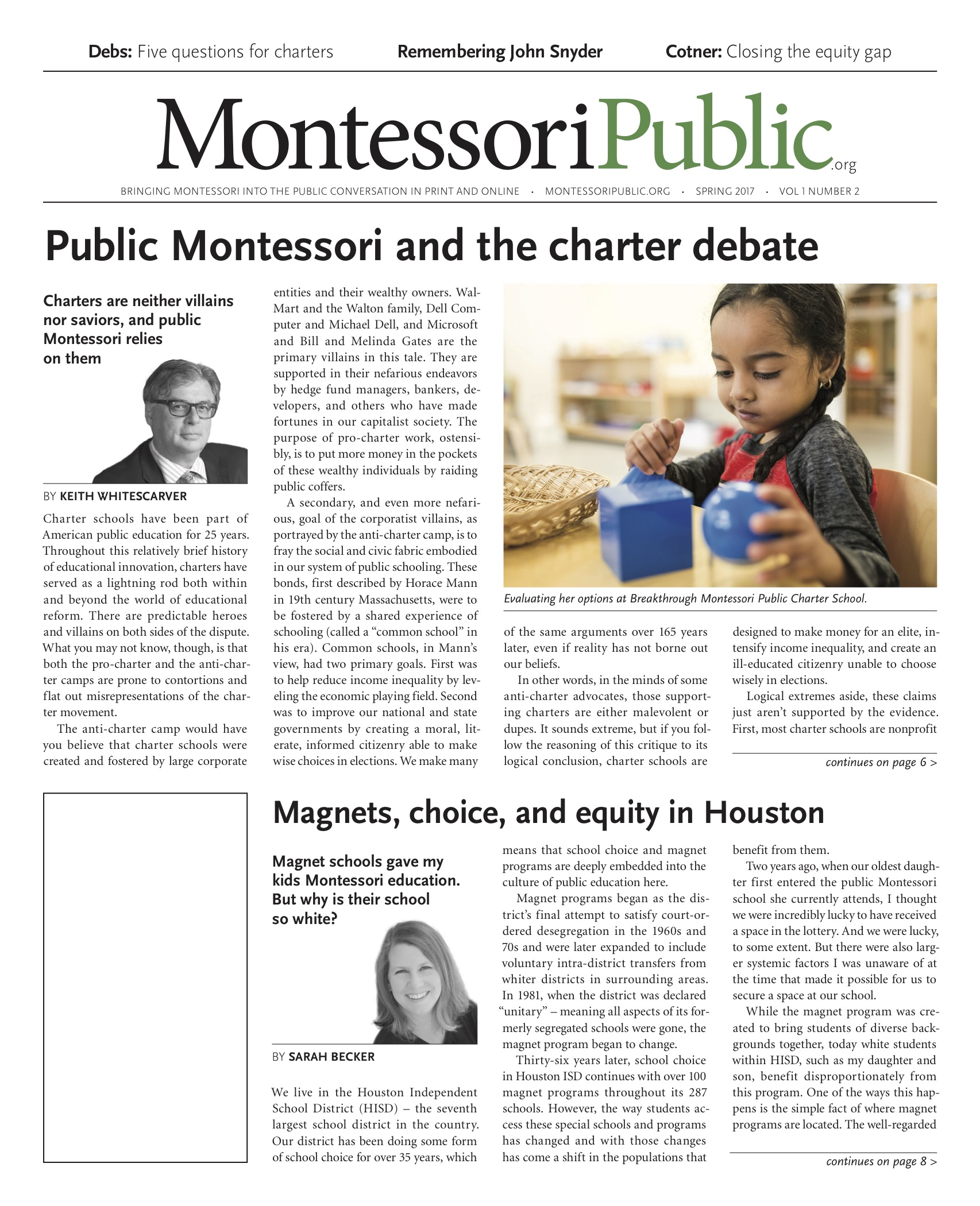 MontessoriPublic — Print Edition Vol.1 #2