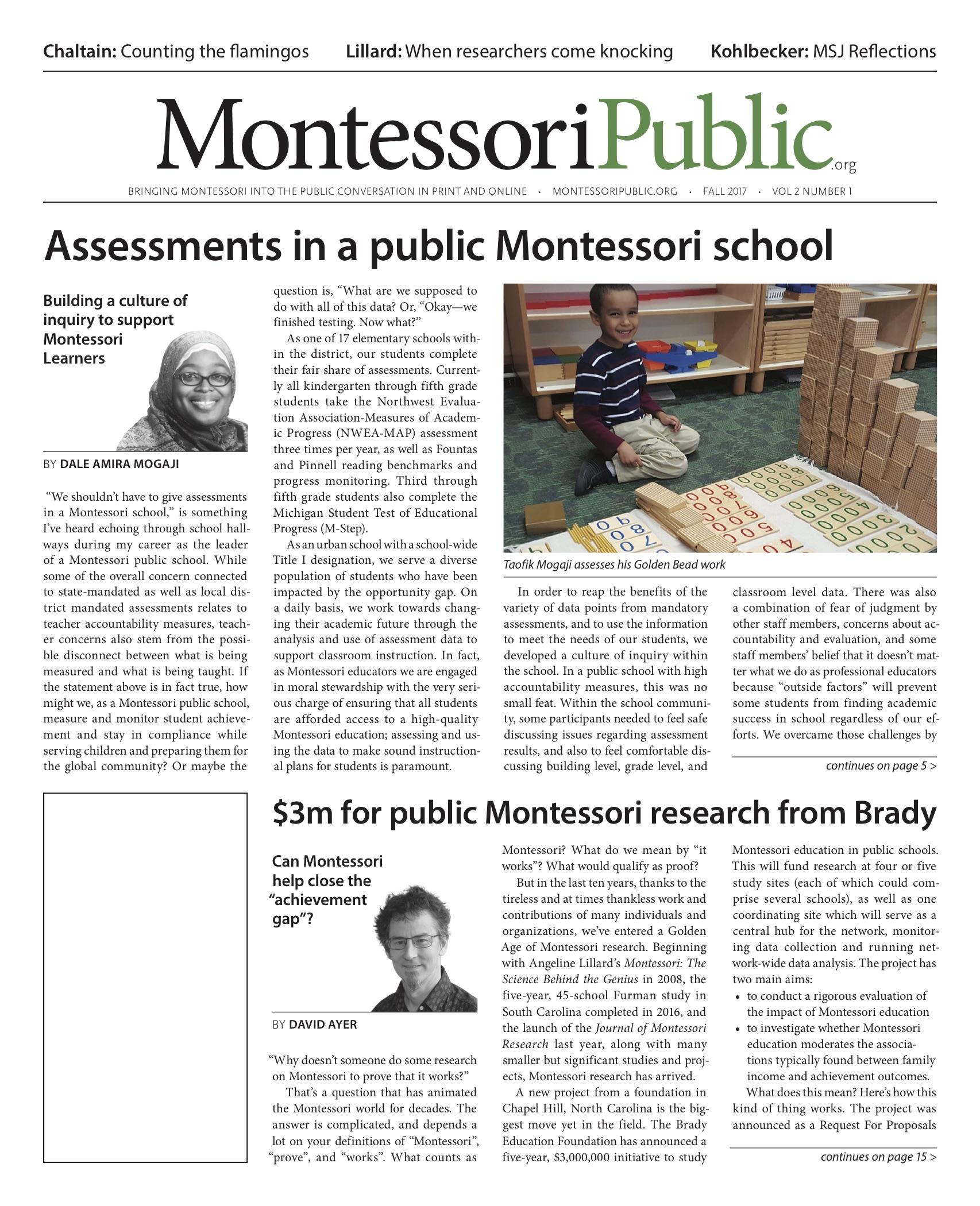 MontessoriPublic—Print Edition Volume 2 #1