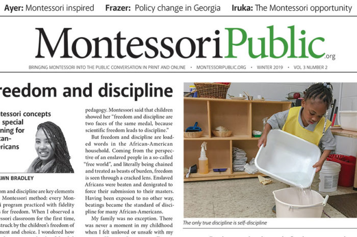 MontessoriPublic—Print EditionVolume 3, Number 2: Policy and Advocacy