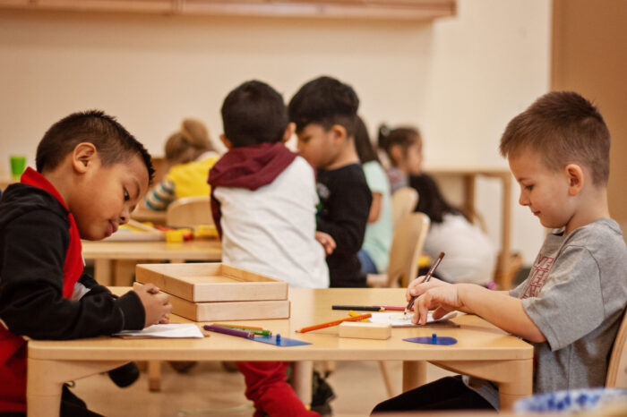 Distance learning in a Primary classroom