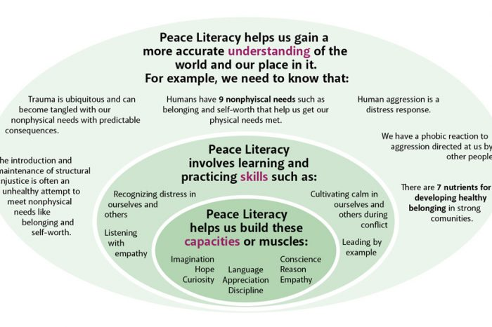 Behavior support informed by Peace Literacy